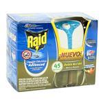Aparato Insecticida RAID Elect +Rto 45 Noc Doble Accion Cja 3