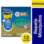 Insecticida RAID Repele Mosquitos En Espiral 12un