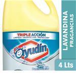 Lavandina Liquida AYUDÍN Pureza Glaciar Botella 4 L