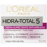 Crema Anti Arrugas L´Oréal Paris Hidra Total 5 X 50ml