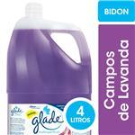 Limpiador Líquido Multisuperficies GLADE Campos De Lavanda Bidón 4l