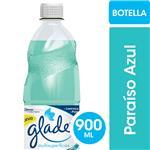 Limpiador Líquido Multisuperficies GLADE Paraíso Azul Botella 900ml