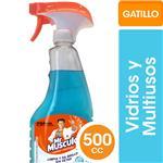 Limpiador Mr. Musculo Vidrios Y Multiusos Gat 500 CC