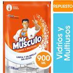 Limpiador Líquido Vidrios Y Multiusos Mr Músculo Original Repuesto 900ml