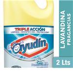 Lavandina Liquida AYUDÍN   Pureza Glaciar   Botella 2 L