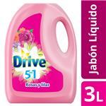 Jabón Líquido DRIVE Matic Rosas Y Lilas 3 L Botella