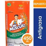 Limpiador De Cocina Mr. Músculo Líquido Antigrasa Repuesto 450ml