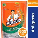 Limpiador De Cocina MR. MÚSCULO Líquido Antigrasa Repuesto 900ml