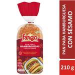 Pan De Hamburguesas Fargo X 4 Uni Con Sésamo