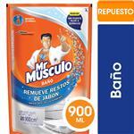 Limpiador De Baño Mr Músculo Líquido Repuesto 900ml