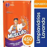 Limpiador Líquido Vidrios Y Multiusos Mr Músculo Lavanda Repuesto 450ml