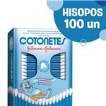 Hisopos COTONETES Cja 100 Uni