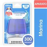 Canasta Líquida Para Inodoro Pato Marina Aparato + Repuesto 50ml