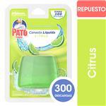 Canasta Líquida Para Inodoro PATO Citrus Repuesto 50ml
