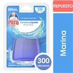 Canasta Líquida Para Inodoro PATO Marina Repuesto 50ml