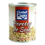 Poroto  CIUDAD DEL LAGO De Soja Lata 350 Gr