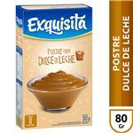 Postre EXQUISITA Dulce De Leche Caja 80 G