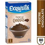 Postre EXQUISITA Chocolate Caja 80 G