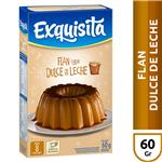 Flan EXQUISITA Dulce De Leche Caja 60 Gr