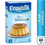 Flan EXQUISITA Vainilla Caja 60 Gr