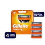 Cartucho GILLETTE Fusion Blister 4 Unidades