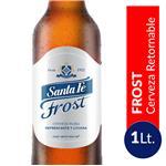 Cerveza SANTA FE Frost Botella 1 L
