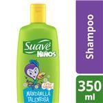 Shampoo SUAVE Niños Manzanilla Talentosa Botella 350 ML