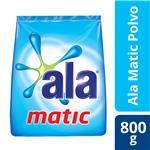 Jabón En Polvo ALA Matic Paquete 800 Gr