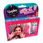 Stickers Para Uñas X 60 C/Lima Sophie . . .