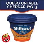 Queso Untable MILKAUT Cheddar 190 Gr