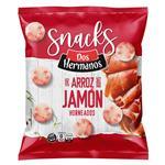 Discos De Arroz Dos Hermanos Jamon Bsa 80 Grm
