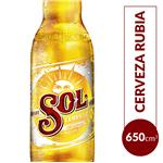Cerveza SOL Porron 650 Cc