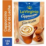 Cappuccino Instantáneo LA VIRGINIA  Dulce De Leche Paquete 155 Gr