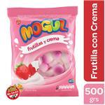 Caramelo MOGUL Frutilla Y Crema Bsa 500 Grm