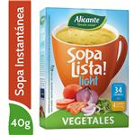 Sopa Verduras ALICANTE    Light Caja 40 Gr