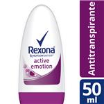 Desodorante Antitranspirante Rexona Women Active Emotion Roll-On 50 Ml