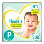 "Pañales PAMPERS Premium Care ""P"" 20 Unidades"