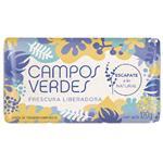 Jabon Tocador CAMPOS VERDES Frescura Liberadora Paq 120 Gr