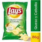 Papas Fritas Lay`S Crema Y Cebolla Paq 95 Gr