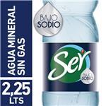 Agua Mineralizada Artificialmente Ser Baja En Sodio 2.25 L