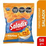 Papas Fritas Saladix Cheddar Bsa 65 Grm