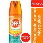 Repelente Para Mosquitos Off! Smooth & Dry Aerosol 114cc