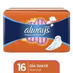 Toallas Femeninas ALWAYS Protección Plus     Paquete 16 Unidades