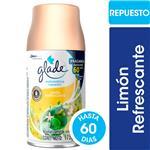 Aromatizante De Ambientes Automático GLADE Limón Refrescante Repuesto 175gr