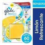 Aromatizante De Ambientes En Gel GLADE Sensations Limón Refrescante Repuesto 8gr
