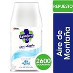 Aromatizante De Ambientes Lysoform Automático Repuesto 175 Gr