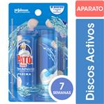 Discos Adhesivos Para Inodoro PATO Marina Aplicador + Repuesto 38gr