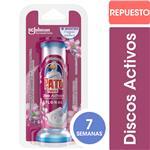 Discos Adhesivos Para Inodoro PATO Floral Aplicador + Repuesto 38gr