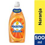 Detergente MAGISTRAL  Naranja   Botella 500 Ml