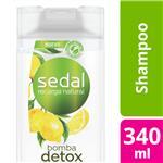Shampoo SEDAL   Pureza Detox Botella 340 ML